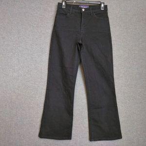 NYDJ BootCut Pants 2 Extra Short Inseam Black
